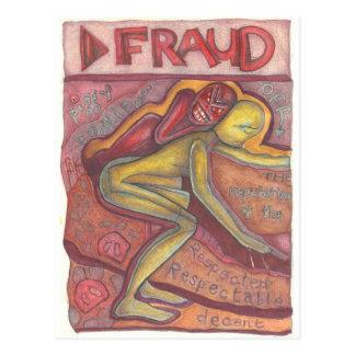 Cartão Postal Fraude