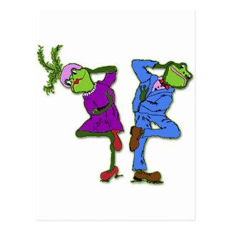 Cartão Postal Freda e Freddie Bop