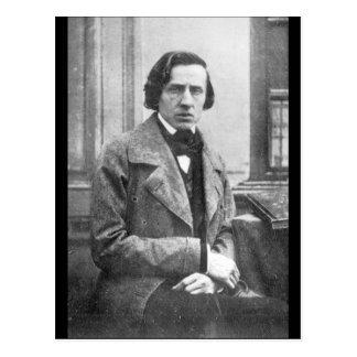 Cartão Postal Frederic Chopin