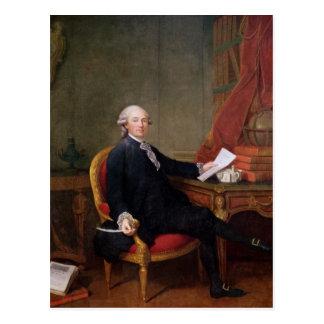 Cartão Postal Frederic-Ignace Comte de Mirbec, 1780