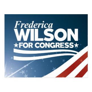 Cartão Postal Frederica Wilson