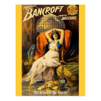 Cartão Postal Frederick Bancroft, príncipe dos mágicos