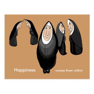 Cartão Postal freiras