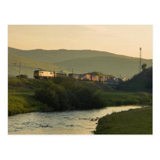 Cartão Postal Frete da noite de Clydeside