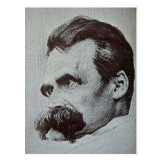 Cartão Postal Friedrich Nietzsche