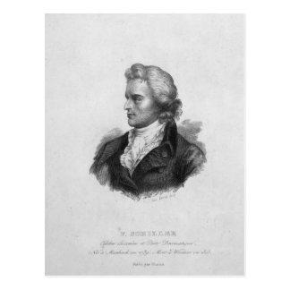 Cartão Postal Friedrich Schiller