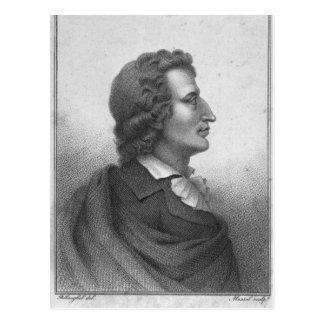 Cartão Postal Friedrich Schiller gravou por Massol