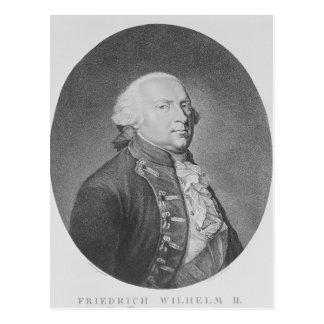 Cartão Postal Friedrich Wilhelm Ii de Prússia