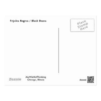 Cartão Postal Frijoles Negros/feijões pretos