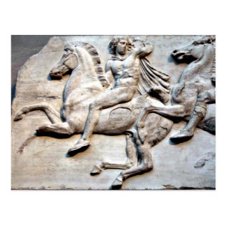 Cartão Postal Friso do Partenon - British Museum