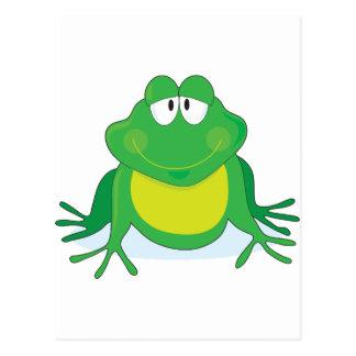 Cartão Postal Froggie