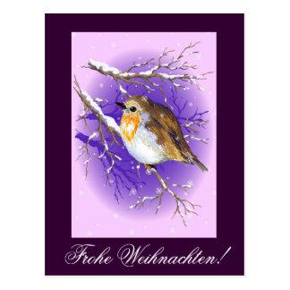 Cartão Postal Frohe Weihnachten!