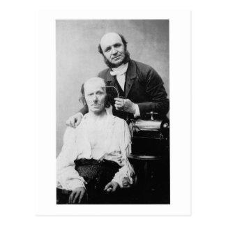 Cartão Postal Frontal 1862 de Faradisation du músculo