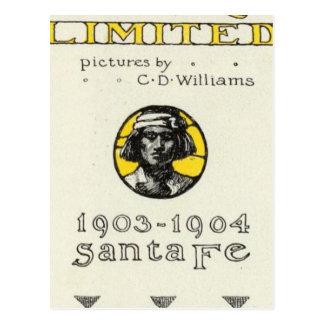 Cartão Postal Frontispício Califórnia limitada