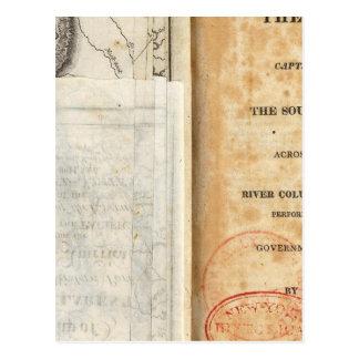 Cartão Postal Frontispício da história da expedição