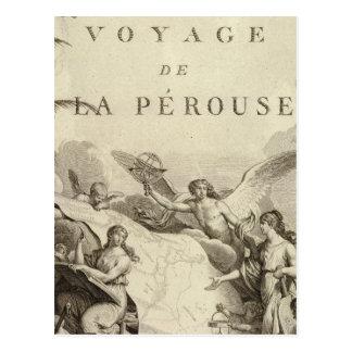 Cartão Postal Frontispício do atlas de France