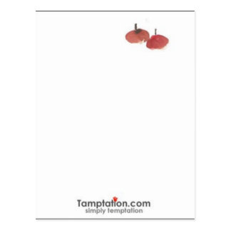 Cartão Postal Fruta afortunada