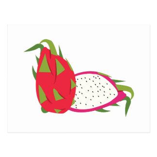 Cartão Postal Fruta do dragão