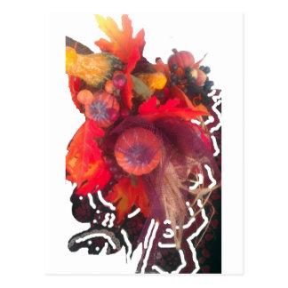 Cartão Postal Fruta especial Basket.png do presente da abóbora