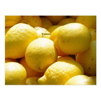 Cartão Postal Fruta: Limões