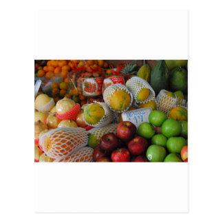 Cartão Postal Fruta tailandesa