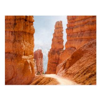 Cartão Postal Fuga do parque nacional da garganta de Bryce