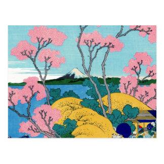 Cartão Postal Fuji de Gotenyama