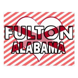 Cartão Postal Fulton, Alabama