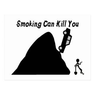Cartão Postal Fumar pode matá-lo