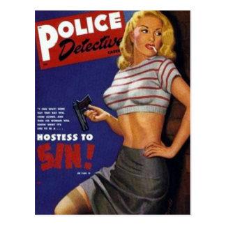 Cartão Postal Fumo do modelo da malhação