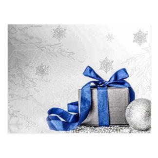 Cartão Postal Fundo do Natal