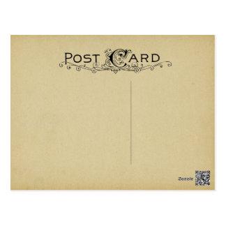 Cartão Postal Fundo vazio do bege do vintage do pergaminho do