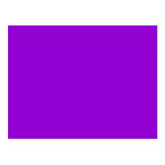 Cartão Postal Fundo violeta escuro da cor