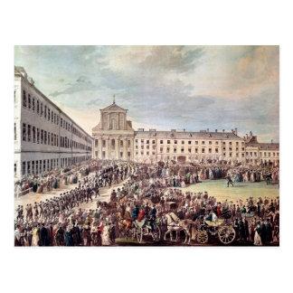 Cartão Postal Funeral de Ludwig van Beethoven em Viena