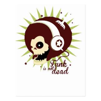 Cartão Postal Funk not dead
