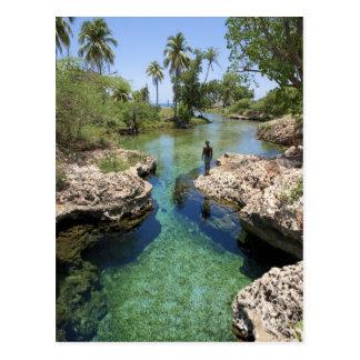 Cartão Postal Furo do jacaré, cidade preta do rio, Jamaica