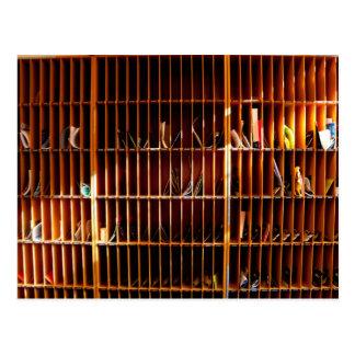 Cartão Postal furo do pombo na informática