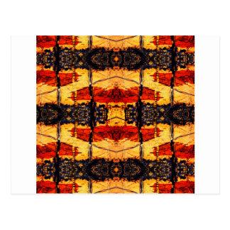 Cartão Postal Fusão tribal