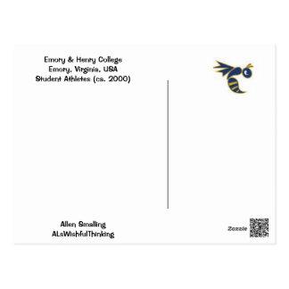 Cartão Postal Futebol da faculdade!!