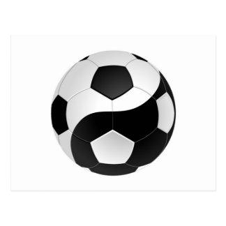 Cartão Postal Futebol de Yin Yang