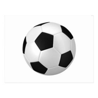 Cartão Postal futebol do futebol