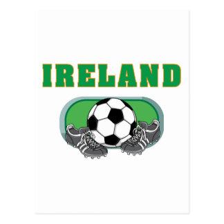 Cartão Postal Futebol do futebol de Ireland