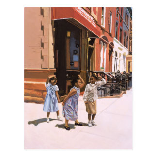 Cartão Postal Gabarito 2001 de Harlem
