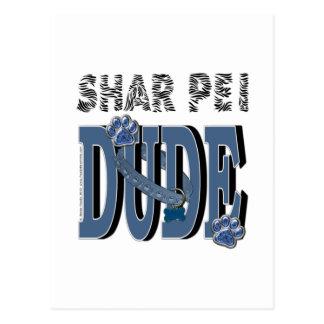 Cartão Postal GAJO de Shar Pei