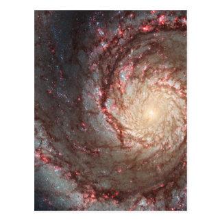 Cartão Postal Galáxia do redemoinho