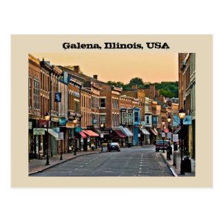 Cartão Postal Galeno, Illinois, EUA