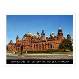 Cartão Postal Galeria de arte de Kelvingrove e museu, Glasgow