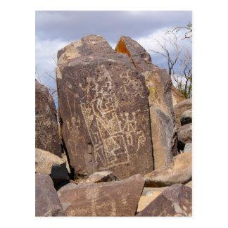 Cartão Postal Galeria do Petroglyph - local do Petroglyph de