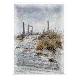 Cartão Postal Galilee no inverno
