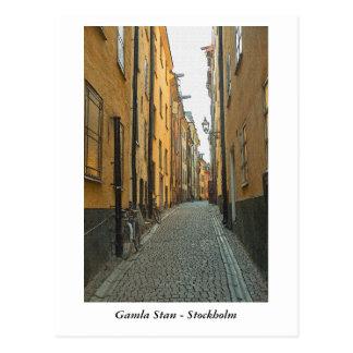 Cartão Postal Gamla Stan - Éstocolmo